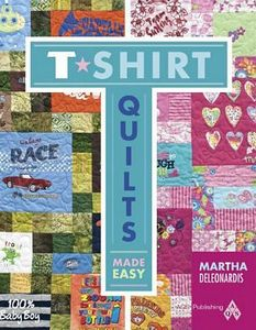 T Shirt Quilts Made Easy AQS8664, American Quilter's Society Book, 64 Pages