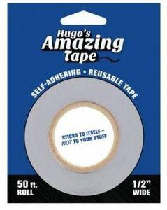 HUGOSHALFINCH, Hugos Amazing Tape 1/2'' x 50ft, No More Unraveling Thread Spools