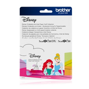 Brother CADSNP07 Disney Cinderella and Ariel Collection for Scan N Cut