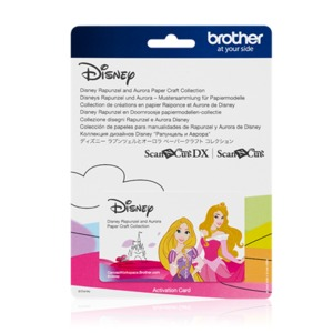 96062: Brother CADSNP08 Disney Rapunzel and Aurora Collection for Scan N Cut