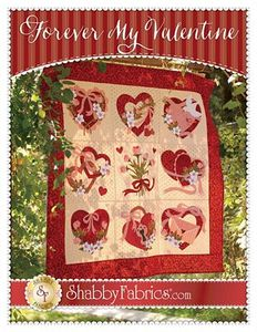 Shabby Fabrics SF49858 Forever My Valentine Quilt Pattern