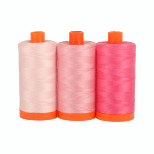 Aurifil Color Builder Sardinia Pink 3pc. Thread Collection