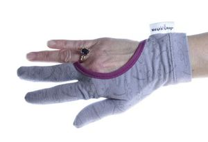96095: Regi's Grip RG-4BP Quilting Gloves with Flower Print and Pink Trim-3 Sizes Available