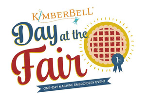 96264: Kimberbell Day at the Fair 4 Hour Machine Embroidery Event April 3, 2020 Houston Store