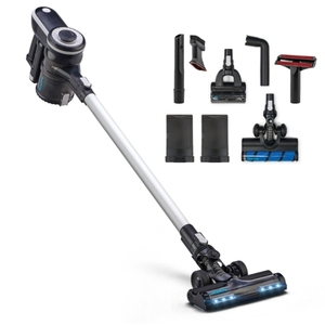 Simplicity S65P, Cordless Multi-Use Upright Stick HEPA Vacuum Cleaner, 2 Speeds, 5Lbs, can run for up to 25 minutes at a time