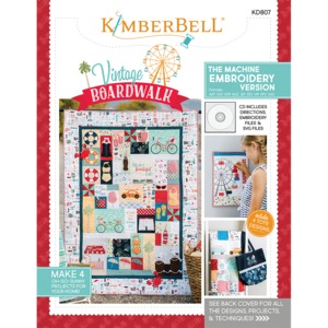 Kimberbell Designs KD807 Vintage Boardwalk Machine Embroidery CD