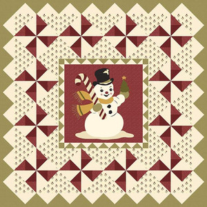 Riley Blake P152-WINTER Buttermilk Basin Design Co Vintage Winter Quilt Pattern