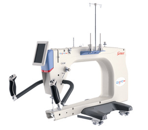 "Grace Qnique New 21 PRO Longarm Quilting Machine, 5"" Touch Screen 10x Larger, 2600SPM 50% Higher Speed, Set Minimum Cruise Speed, Low Bobbin Warning, Grace, Qnique, 21, PRO Long, arm, MachiEne, Head, Grace Qnique21 Longarm Quilting Machine Head Only with Stitch Regulation"