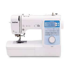 13555: Brother Innovis NS80E 80 Stitch Computer Sewing Machine, 2 Fonts, 10x1Step Buttonholes, 55 Alphabet Characters, 35 Stitch Memory