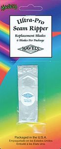 Havels 7649-16 Replacement Blades for Ultra-Pro Seam Ripper, 6/pk