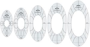 96481: Good Measure by Amanda Murphy Every Oval: Low Shank or Longarm Template Options