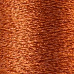 Yenmet Metallic 500m-Solid Orange 7007 Spool of Specialty Metallic Thread