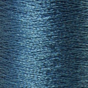 Yenmet Metallic 500m-Solid Medium Blue 7021 Spool of Specialty Metallic Thread