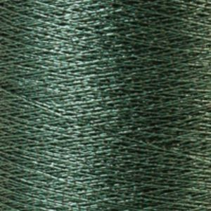 Yenmet Metallic 500m-Solid Dark Green 7026 Spool of Specialty Metallic Thread