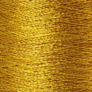 Yenmet Metallic 500m- 24 karat Gold 7001 Spool of Specialty Metallic Thread