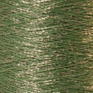 Yenmet Twilight Silver 500m-Light Green 7040 Spool of Specialty Metallic Thread