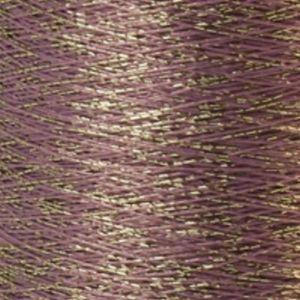 Yenmet Twilight Silver 500m-Light Purple 7039 Spool of Specialty Metallic Thread