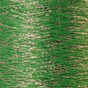 Yenmet Twilight Silver 500m-Green 7049 Spool of Specialty Metallic Thread