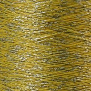 Yenmet Twilight Silver 500m-Yellow 7047 Spool of Specialty Metallic Thread