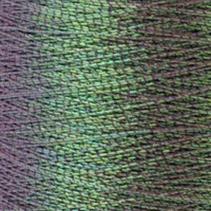 Yenmet Pearlessence 500m-Jade 7035 Spool of Specialty Metallic Thread