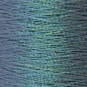 Yenmet Pearlessence 500m-Turquoise 7037 Spool of Specialty Metallic Thread