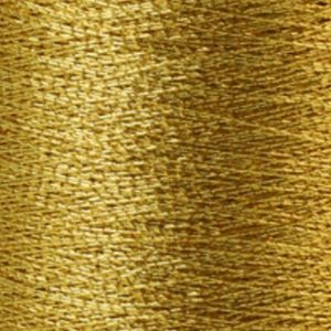 Yenmet Metallic 500m-Aztec Gold 7014 Spool of Specialty Metallic Thread
