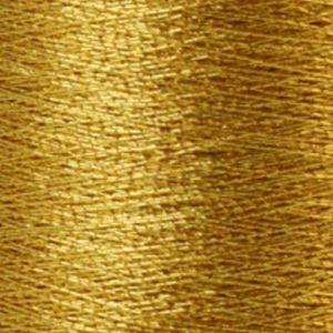 Yenmet Metallic 500m-Mayan Gold 7013 Spool of Specialty Metallic Thread