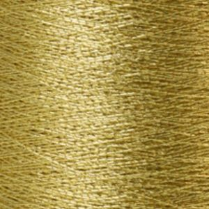 Yenmet Metallic 500m-Pyrite (Fools Gold) 7011 Spool of Specialty Metallic Thread