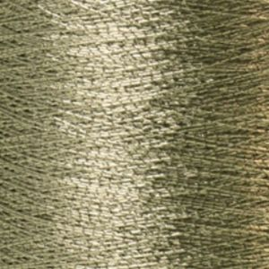 Yenmet Metallic 500m-Solid Silver 7005 Spool of Specialty Metallic Thread