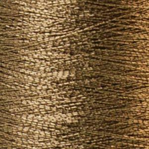 Yenmet Metallic 500m-Solid Charcoal 7019 Spool of Specialty Metallic Thread