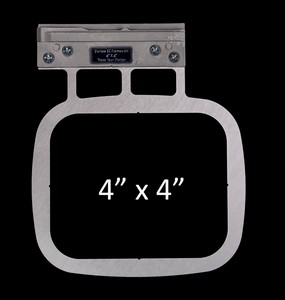 798304391671, 798304391794, Durkee DUREZF4X4 EZ Frame Individual Single Needle 4x4 Floating Frame for Brother and Babylock