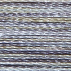 Isacord Variegated Multicolor Embroidery Thread 9871 Zen Rock Garden Polyester 1000m Spool