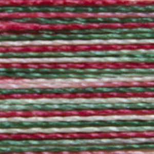 Isacord Variegated Multicolor Embroidery Thread 9864 Holly Berry Wreaths Polyester 1000m Spool