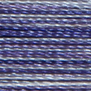 Isacord Variegated Multicolor Embroidery Thread 9005 Grape Crush  2579-9921 Polyester 1000m Spool