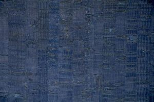 96706: Eversewn VL15BL1 Blue Cork Fabric 1yd X x 27""
