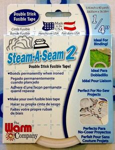 Steam-A-Seam 2 7054 Fusible Tape 1/4'' by 40 yards