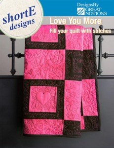 DIME LYM1001 Love You More Quilt Designs CD