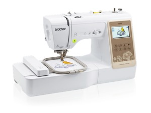 96749: Brother RSE625FS 103 Stitch Sewing 4x4 Embroidery Machine, USB Port, 280 Designs, Color Screen,