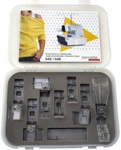 96764: Bernette Sewing 7pc Serger Foot Kit for B44 B48
