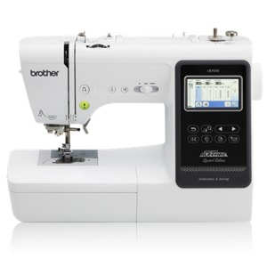"Brother LB7000 Sewing and 4"" x 4"" Embroidery Machine"