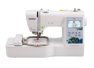 "96824: Brother PE535 4"" x 4"" Embroidery Machine with Large Color Touch LCD Screen"