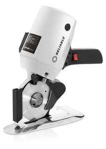 "reliable, 1500FR, xd-100, reliable msk-100, msk100, xd100, knife cutter, cloth cutter, Reliable™ XD-100, Quattro X2, Octogonal Rotary Blade, 4"" Knife, Fabric & Cloth, Stand Up Cutter, Cuts up to 1"", Light - Medium Material, Carbide Lower Blade"