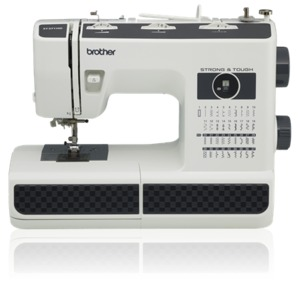 Brother ST371HD, Strong and Tough Mechanical Sewing Machine 37 Stitch, Automatic Threading, Lightweight, Full Size, Drop Feed for Free Motion, 6 Feet*