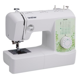 Brother, SM2700, Sewing Machine, Brother SM2700 27 Stitch/63 Stitch Function Mechanical Sewing Machine, Threader, Quick Set Drop In Bobbin, Winder, with 6 Included Accessory Feet*