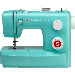 Singer 3223G Simple Sewing Machine with 23 Built-In Stitches, 4-Step Buttonhole