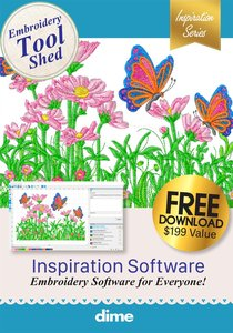 DIME, Designs in Machine Embroidery, Digital Download, CD, Embroidery Software, Tool, Tools,