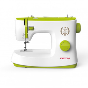 Necchi K408A 8-Stitch Mechanical Sewing Machine with 4-Step Buttonhole, Automatic Bobbin Winder