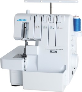 Juki MO-80CB Serger 2/3/4 Thread Overlock, Lay In Tensions, Automatic Rolled Hem