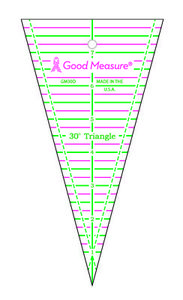 Good Measure GM30D 30 Degree Triangle Ruler