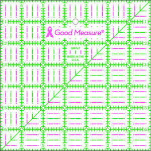 "Good Measure GM7X7 7"" x 7"" Square Ruler"